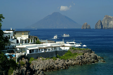 Photo of Panarea in North Sicily