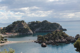 Isola Bella and Mazzaro beaches