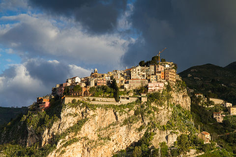 Photo of Castelmola in East Sicily