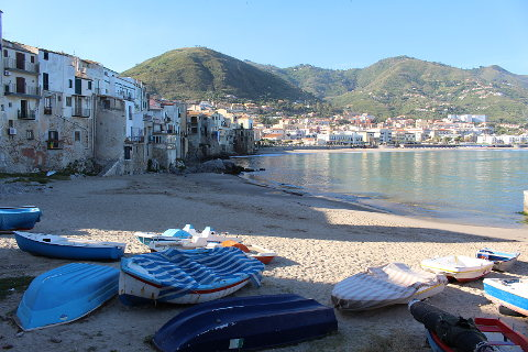 Photo of Cefalu in North Sicily