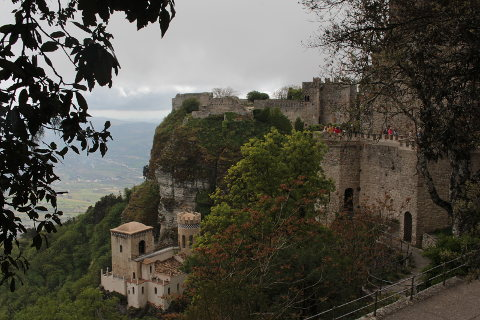 Photo of Erice in West Sicily