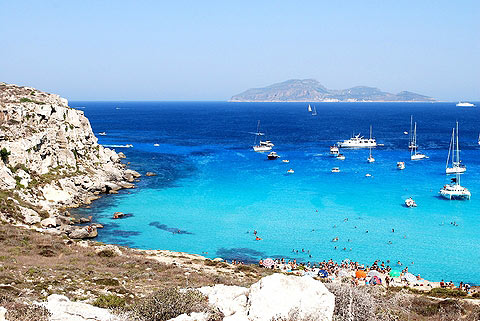 Photo of Favignana in West Sicily