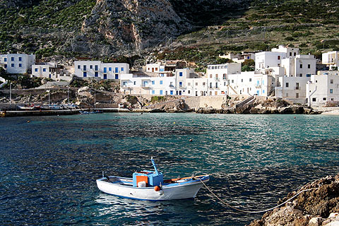 Photo of Levanzo in West Sicily