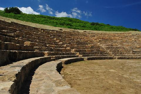 Photo of Morgantina in South-East Sicily