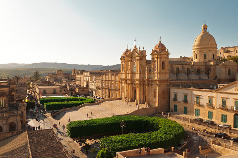 Photo of Noto in South-East Sicily