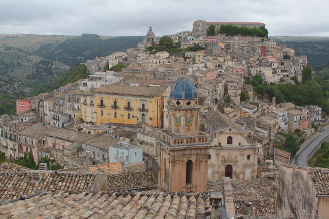Photo of Ragusa in South-East Sicily