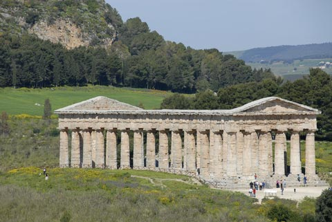 Photo of Segesta in West Sicily