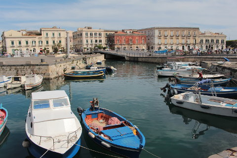 Photo of Syracuse in South-East Sicily