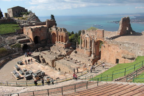 Photo of Taormina in East Sicily