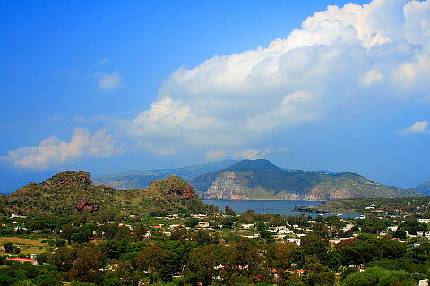 Photo of Vulcano in North Sicily