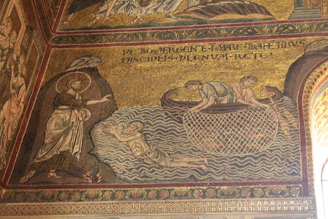 mozaics of Monreale cathedral